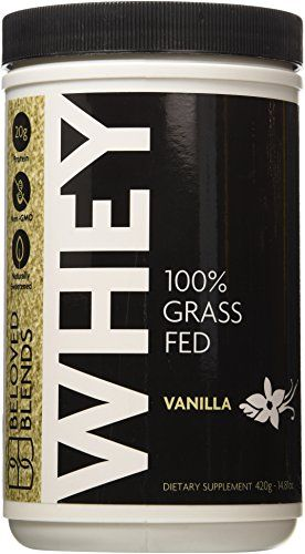 Beloved Blends 100 Grass Fed Whey Protein  Vanilla * For more information, visit image link.