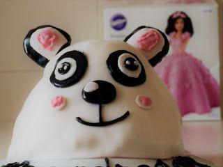 Gâteau Panda en pâte à sucre - Tous les détails de la recette sur mon blog