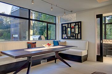 Danish Modern Dining Room Table Design Pictures Remodel Decor And Ideas