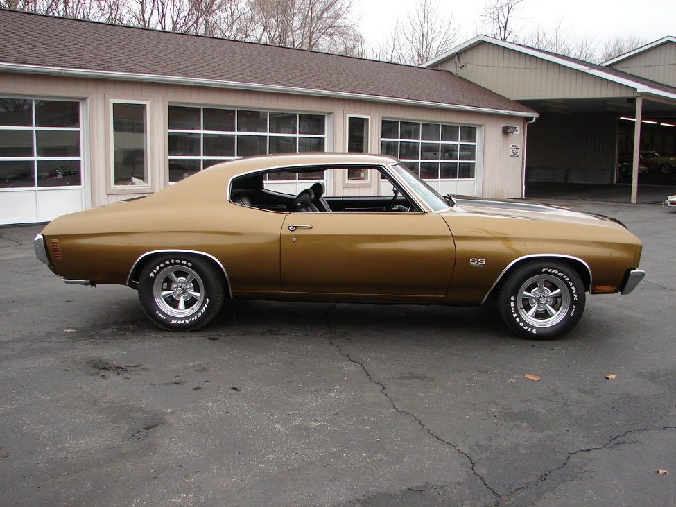 1970 Chevelle Ss Aztec Gold With Black Stripes Needs More Gold