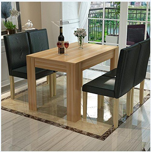 WV LeisureMaster Piece CM Solid Original Wood Dining Table - 5 person kitchen table