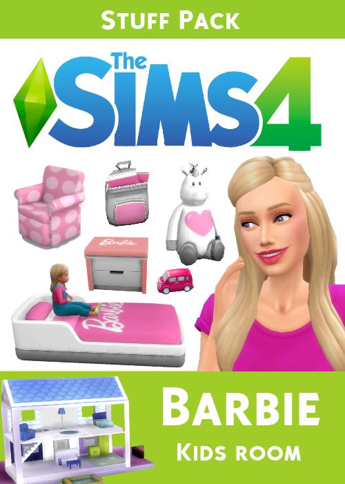 High Quality Pihe89 U2014 The Sims 4   Barbie Kids Room Stuff You Can Find.