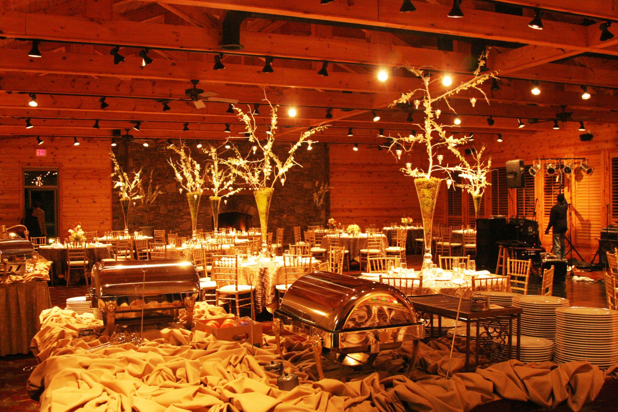 Rustic Elegant ballroom Wedding The Ridges Resort & Marina ...
