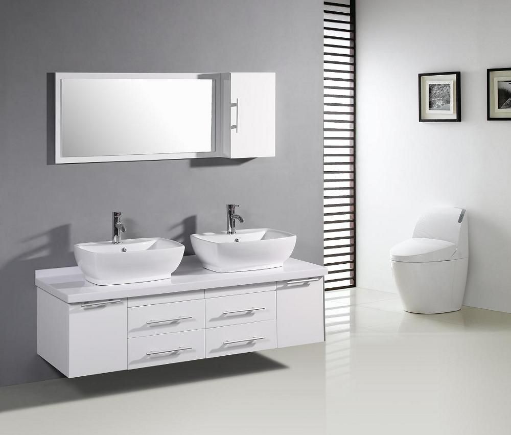 Master Bathroom Cabinet Ideas With Trendy Modern Bathroom Vanity ...