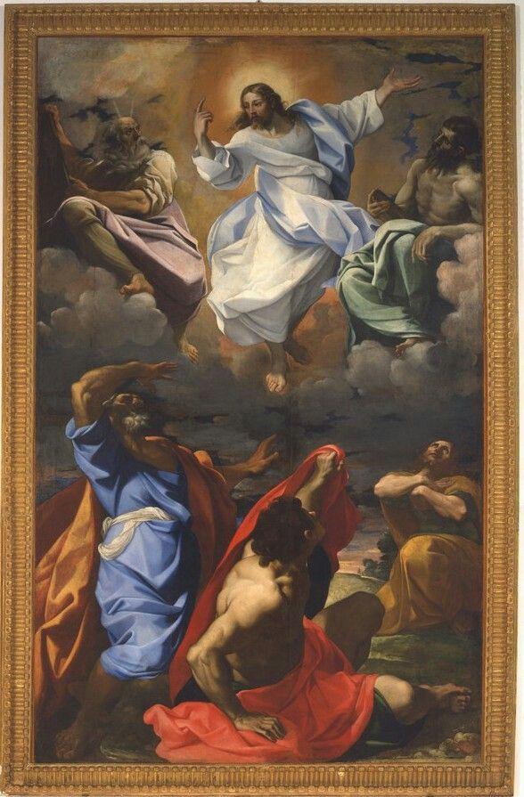 1595. Trasfigurazione.  Pinacoteca Nazionale di Bologna