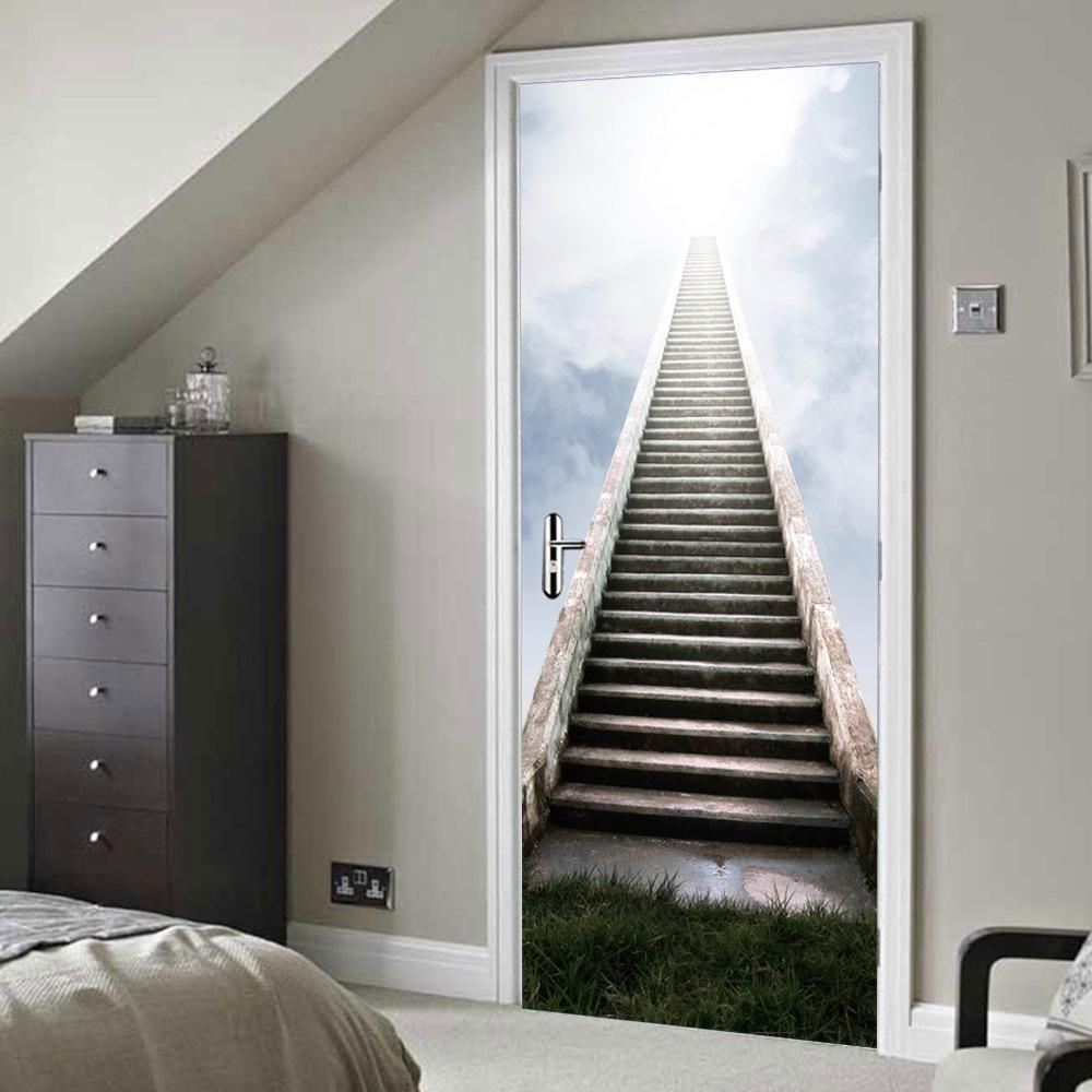 D wall u door art stairway to heaven cm x cm pcs
