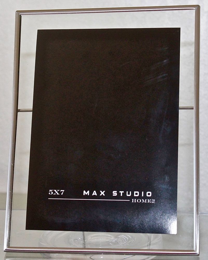 Max Studio Home Picture Frame 5 By 7 Metal New Maxstudiohome