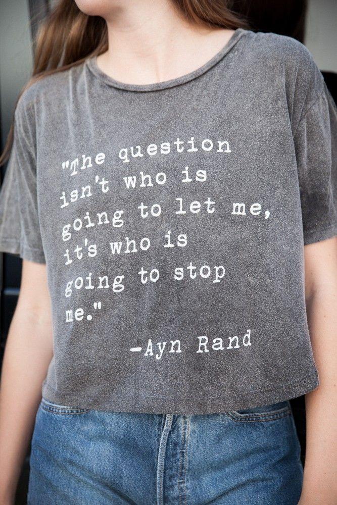 Brandy ♥ Melville   Aeryn Ayn Rand Top - Graphics