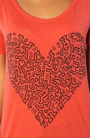 Keith Haring by Obey