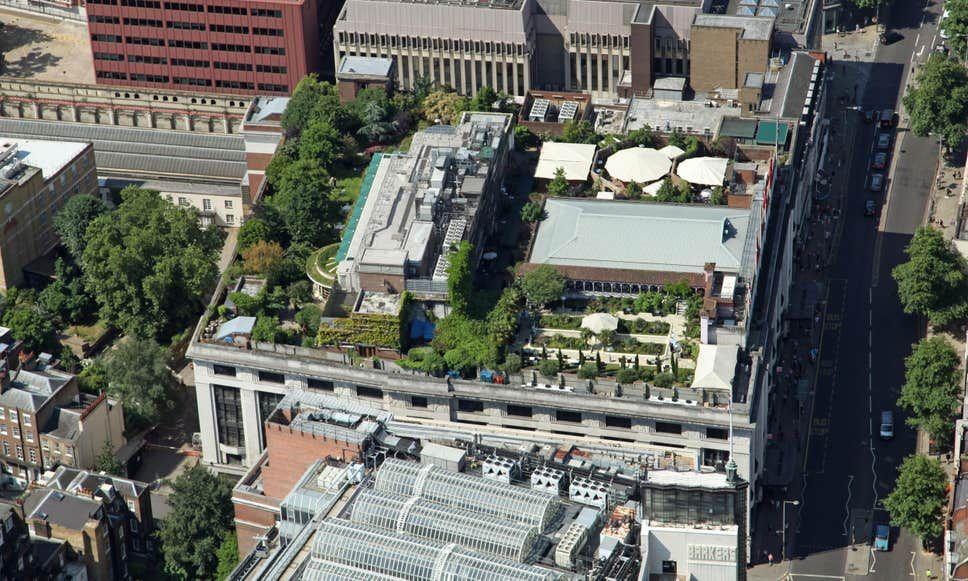 Awesome 10 Pics Roof Garden Kensington High Street And Pics In 2020 Roof Gardens London Roof Garden Terrace Garden