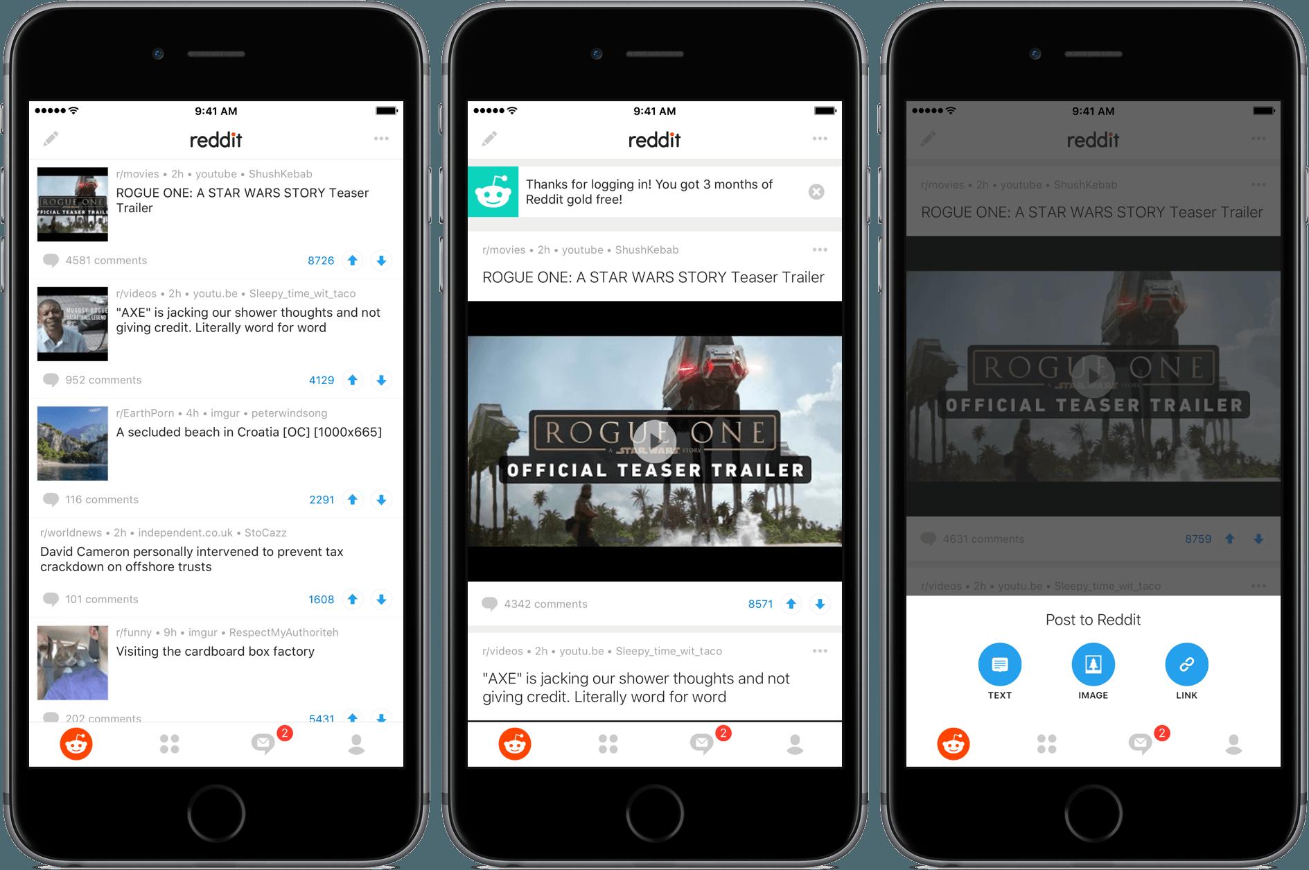 Reddit Launches Official iOS App Ios app, App, Phone apps