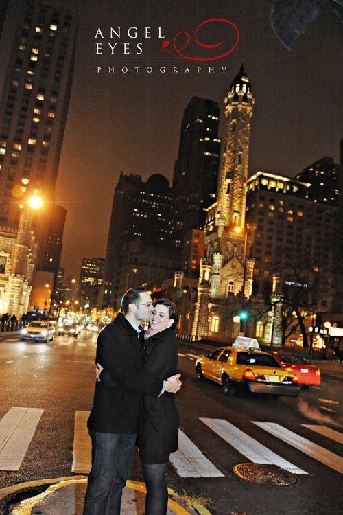 Romantic Proposal Photography Signature Room John Hancock Center