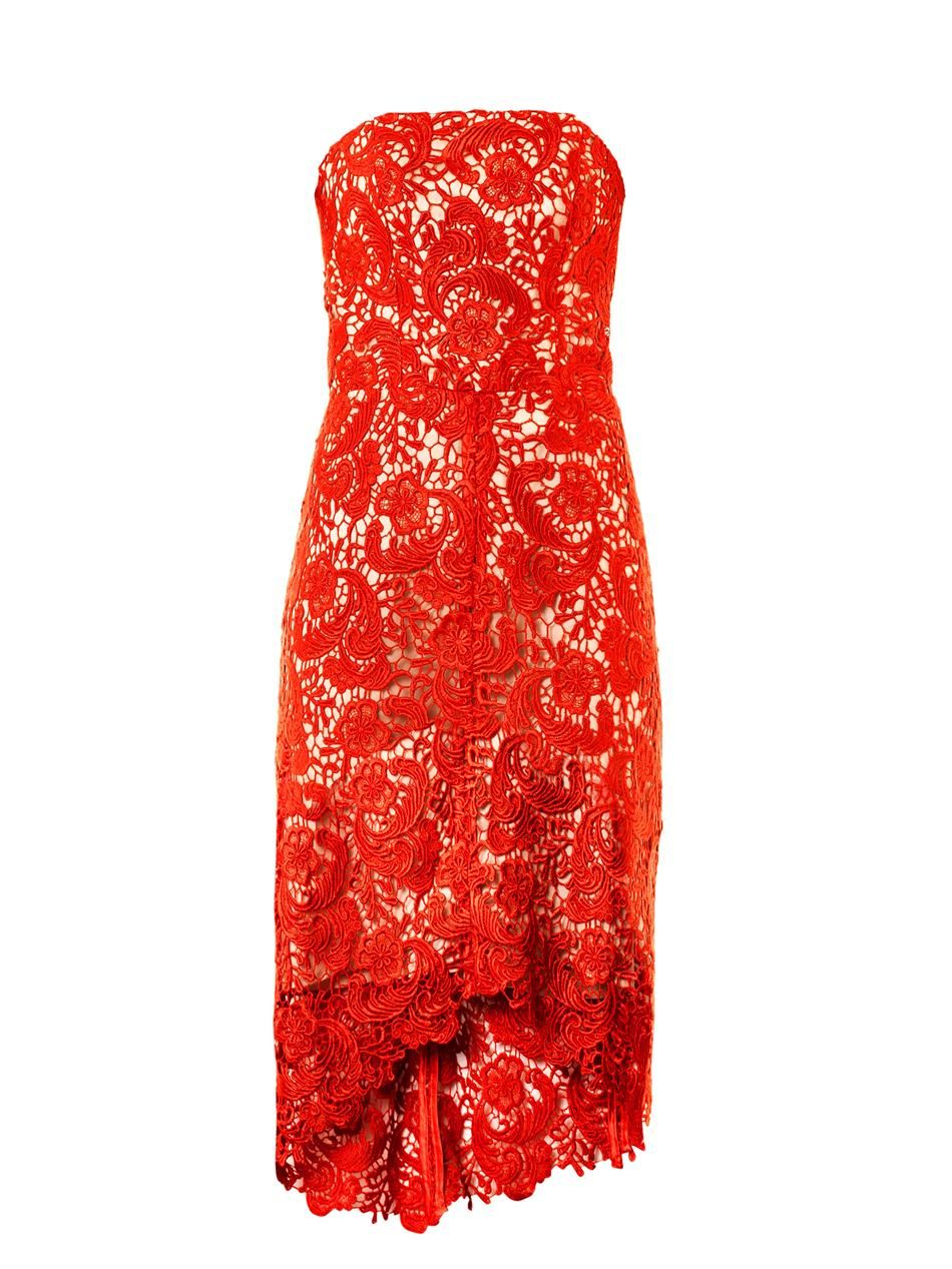 Love this as an alternative to Vicki Gunvalson's red lace Season 9 reunion dress - Same lace but isn't quite as revealing! http://rstyle.me/~2fLOU