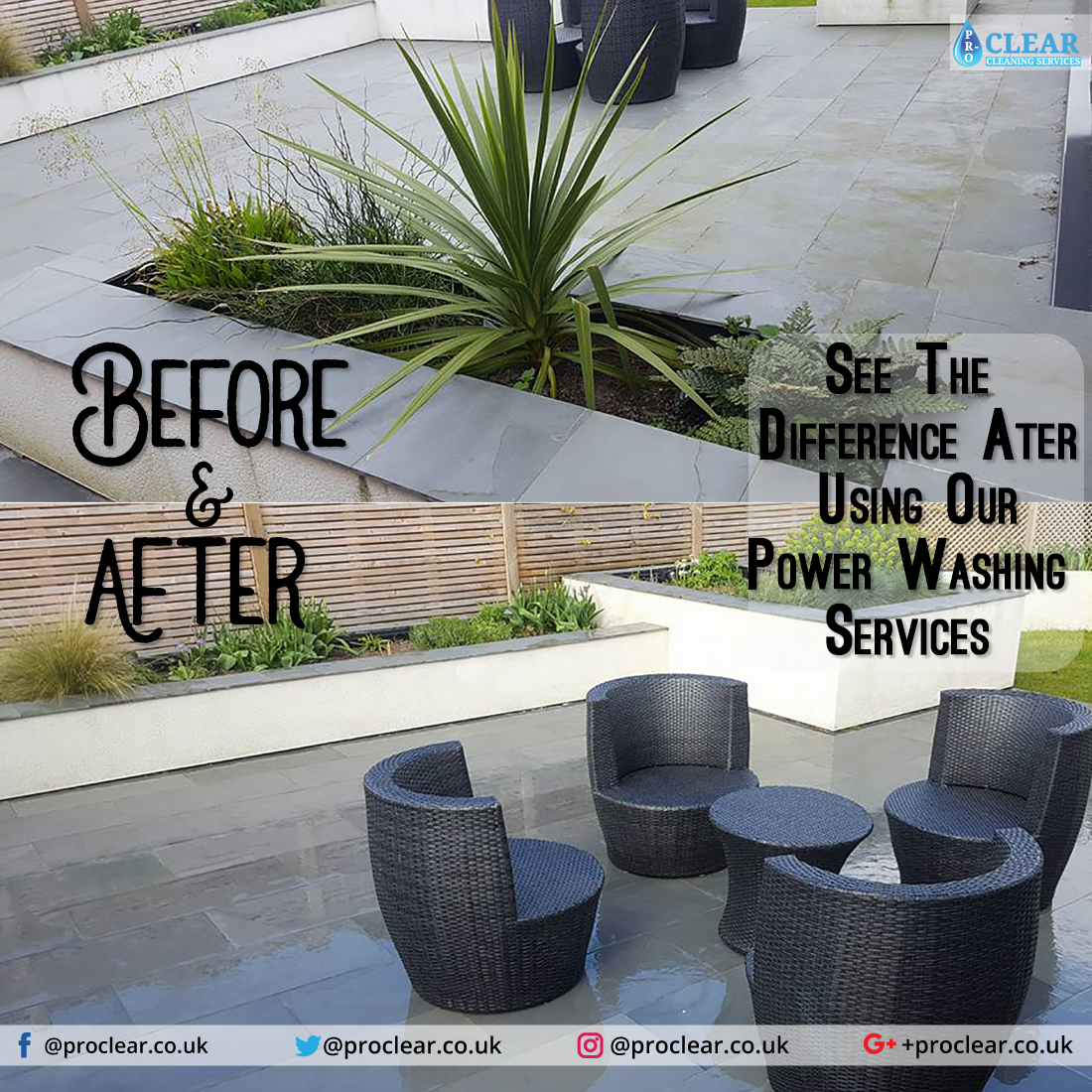 Pin By Pro Clear Cleaning Services On Power Washing Power Washing Services Cleaning Service Outdoor Decor