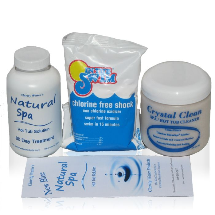 Natural Spa Products - maintaining our hot tub without chemicals ...