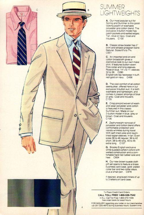 2bac531945382 Vintage Brooks Brothers catalog image via Heavy Tweed Jacket ...