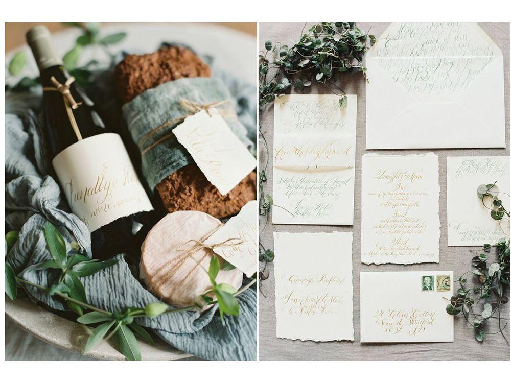 Design House Of Moira | Calligraphy Wedding Invitations | Ireland