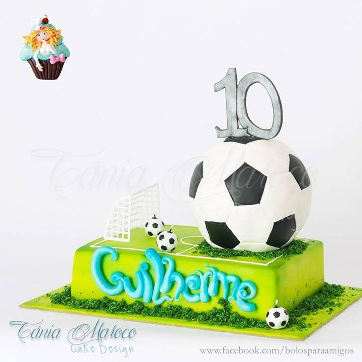 "Bolo ""Futebol"" Bolos para Amigos http://ift.tt/1TWqpHI http://ift.tt/1SqmHpK"