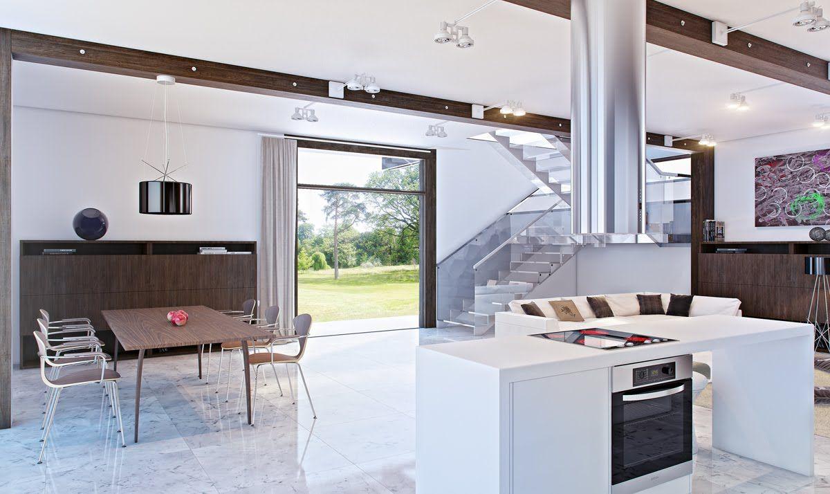 modern open kitchen   Luxus küche design, Küchendesign modern ...