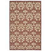 Found it at Wayfair - Five Seasons Red Indoor/Outdoor Area Rug