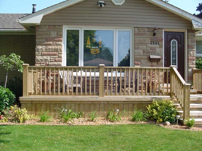 front step design ideas | Remove old run down concrete or wood steps ...