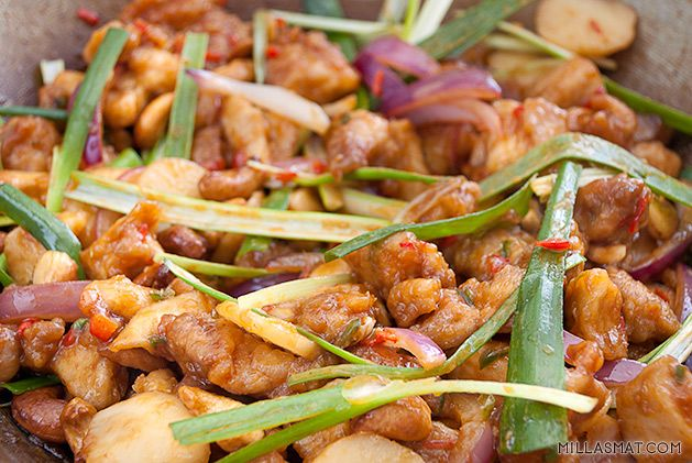 Cashewcurry Gai Pad Met Ma-Maung | Millas Mat