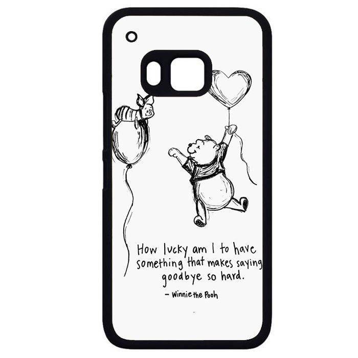 Winniethe Pooh QuotePhonecase Cover Case For HTC One M7