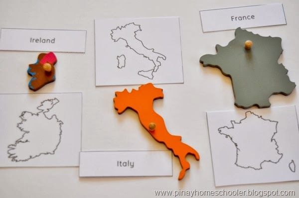 European Countries (Territory Outlines) European countries - fresh world map quiz practice