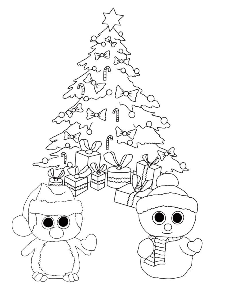 Christmas Coloring Pages For Preschoolers Best Coloring Pages For Kids Tree Coloring Page Cartoon Coloring Pages Penguin Coloring Pages