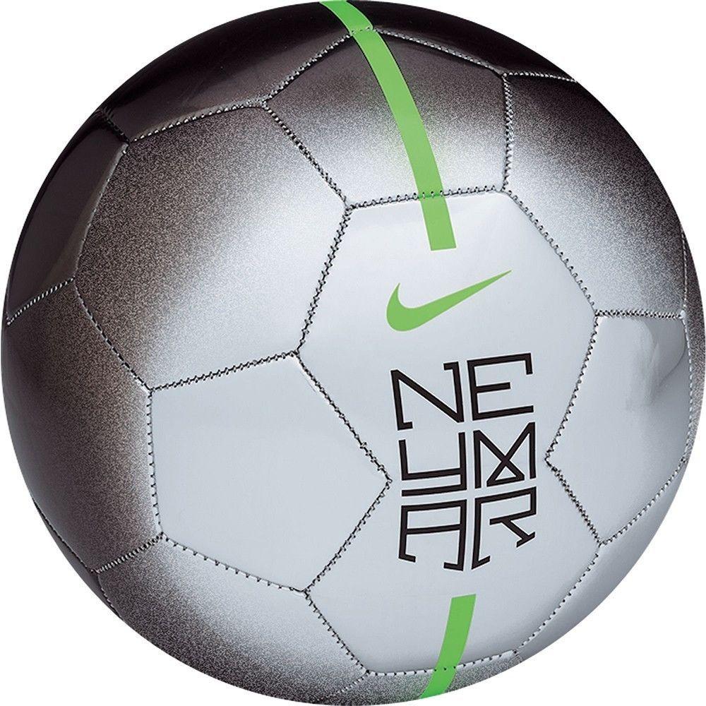 Nike Neymar Prestige 2014 Silver Football Soccer Ball Signed By Neymar Jr Soccer Ball Soccer Neymar