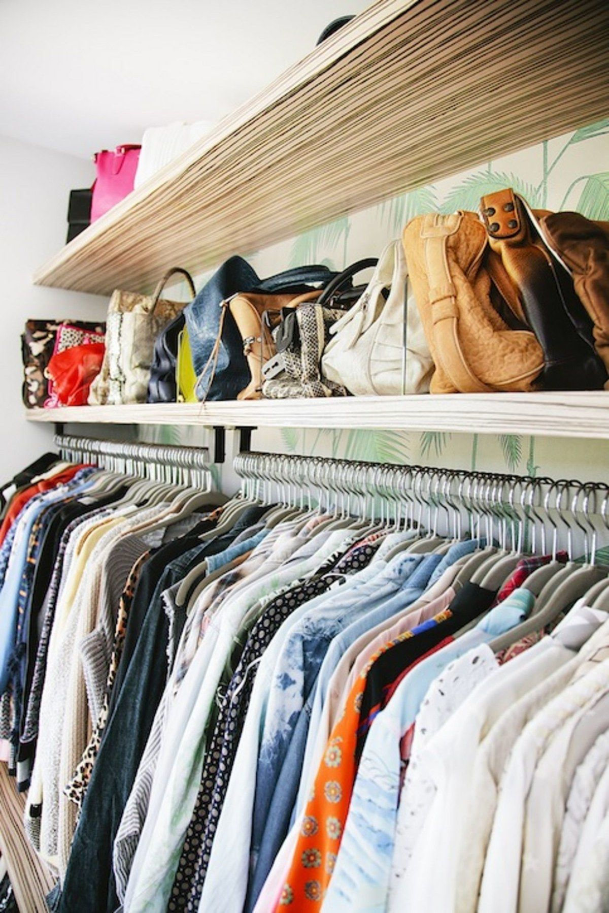 Chic Peek Whitney Port S Closet Is Like A Sanctuary For Clothes Tour It Exclusively Here Whitney Port Closet Designs Closet Inspiration