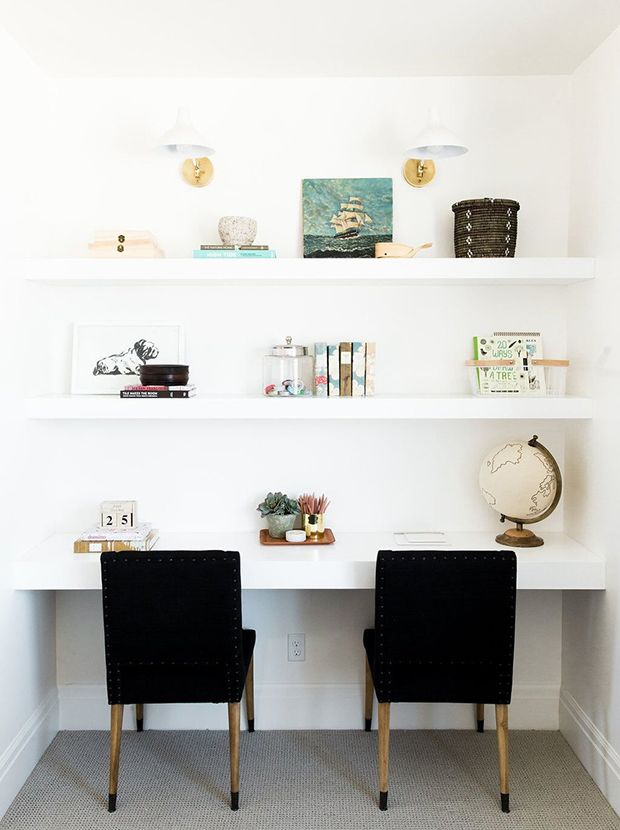 15 Small Office Nooks That Work Hard Home Office Decor Home