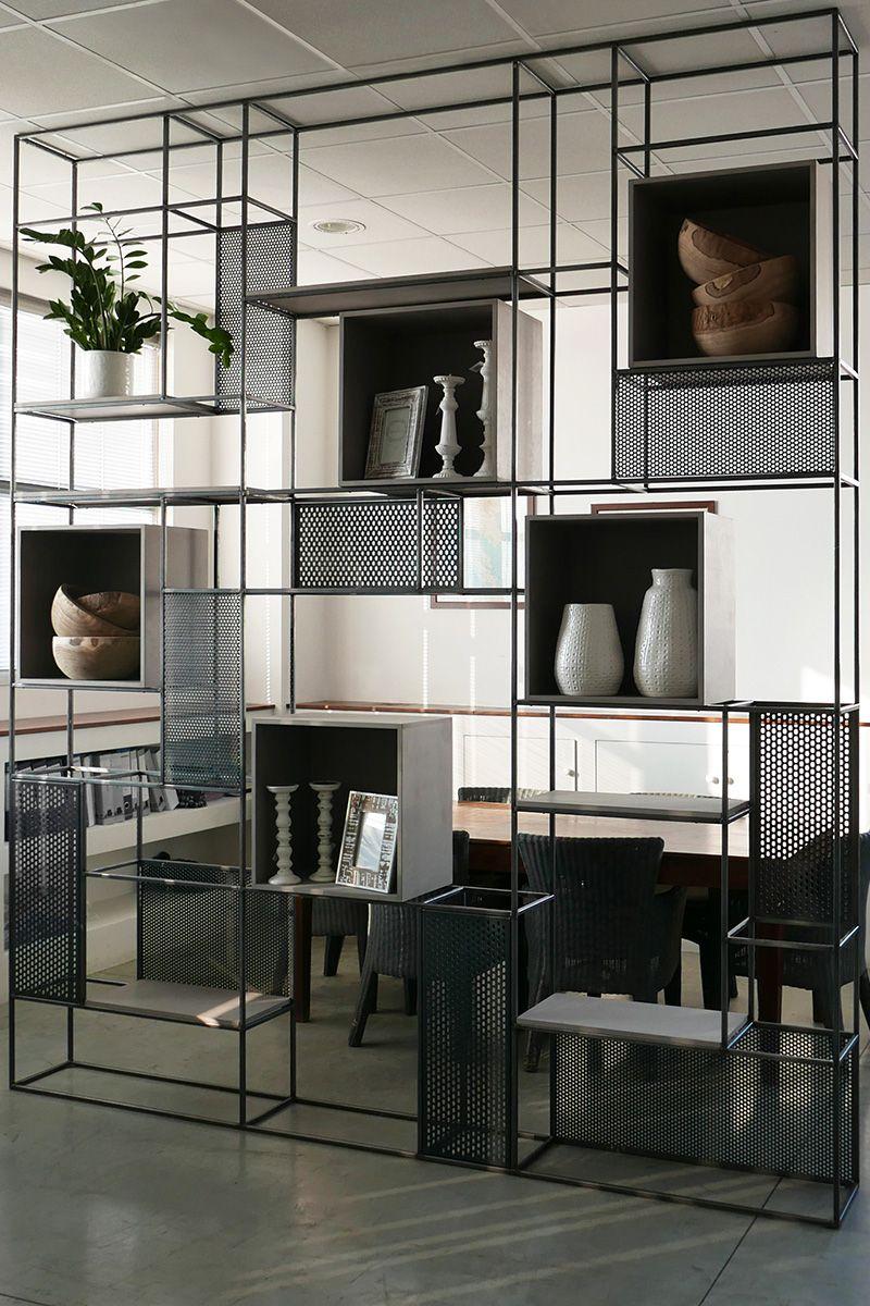 Innenarchitektur für schlafzimmer-tv-einheit mib la bibliothèque modulaire pensée par le studio jab  shelf and