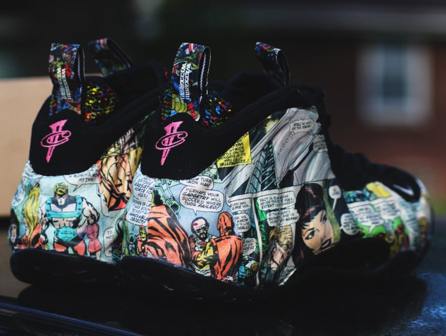 "separation shoes f48a3 32432 Nike Air Foamposite One ""Avengers"" Customs by RBN"
