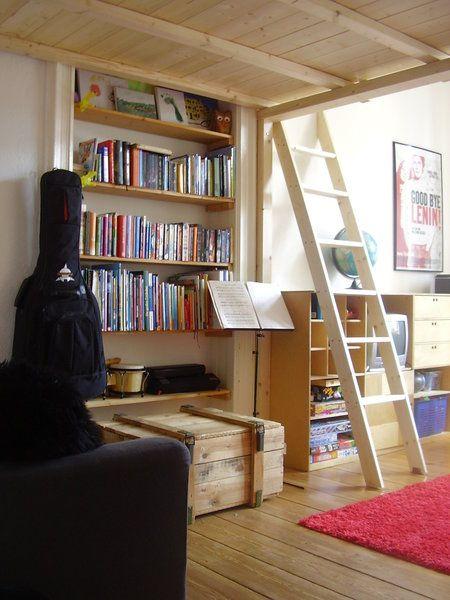 diy hochbett hochebene hochbett. Black Bedroom Furniture Sets. Home Design Ideas