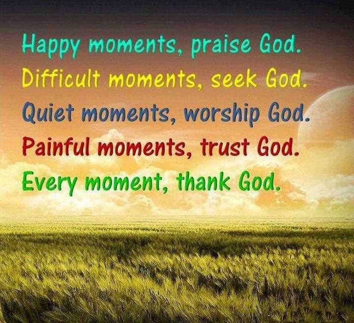 happy quotes about god