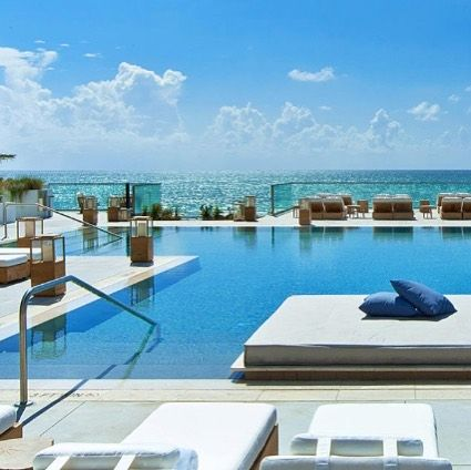 Pool Settings Goals Your Exclusive Private Pool Beach Club At The 1 Hotel In South Beach Miami Pic By 1hotels Exclusive I Pool Beach Relax Resort Pools