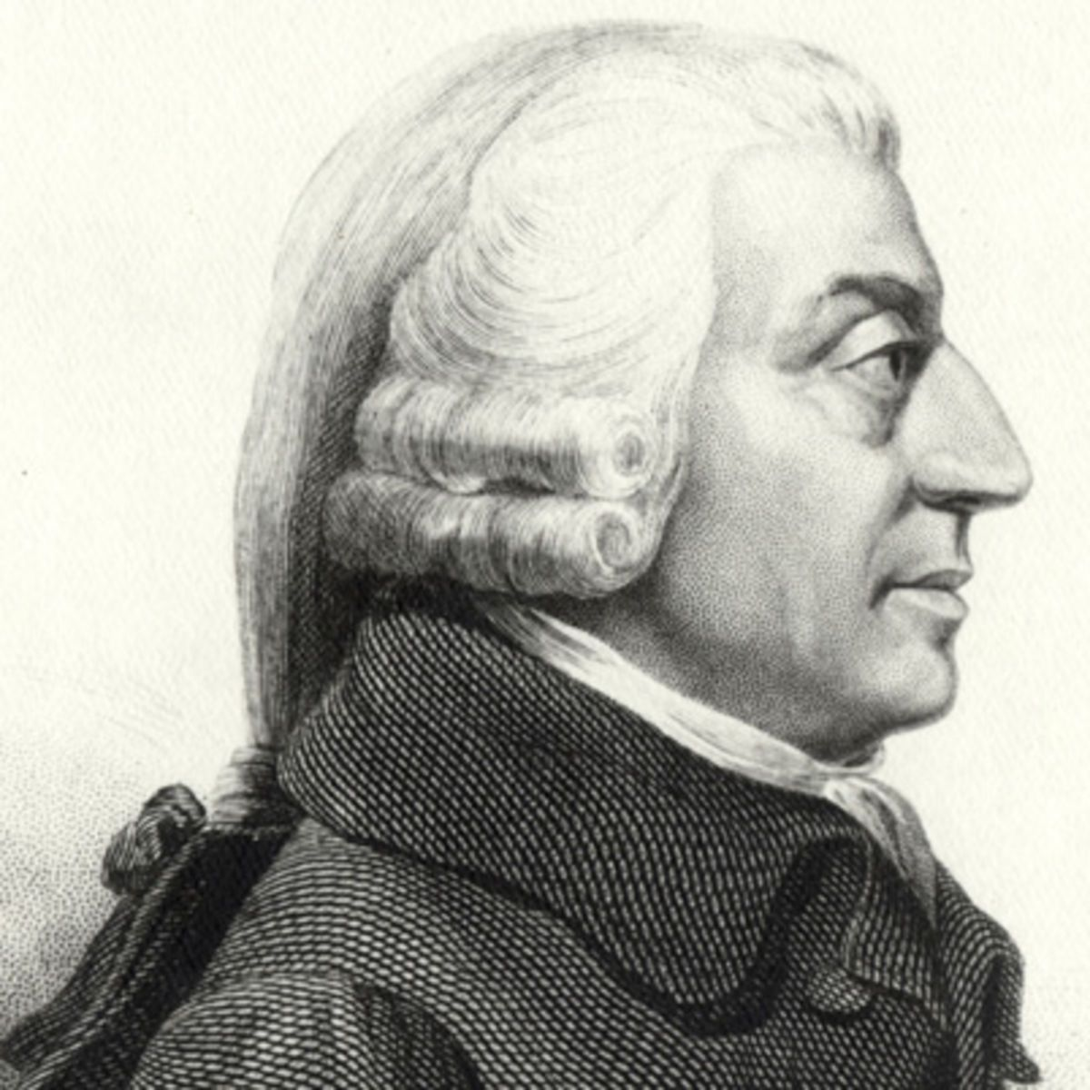 adam smith writes the wealth of nations