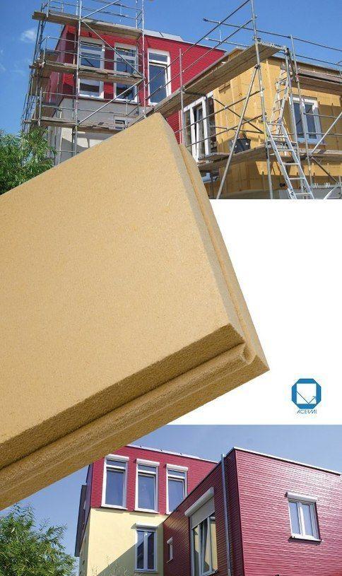 Un isolant fibre de bois spécial façades ventilées Facades