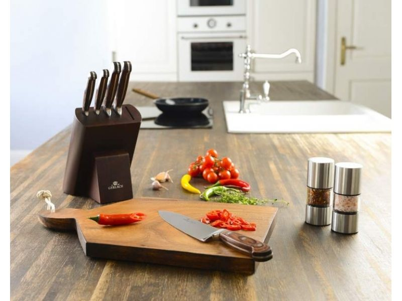 Gerlach Provence 961a Komplet 5 Nozy Kuchennych W Bloku Pomysl Na Prezent Nowoczesna Kuchnia Gotowanie Kitchen Home