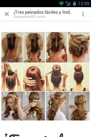 Mas ejemplos de peinados  – Peinados