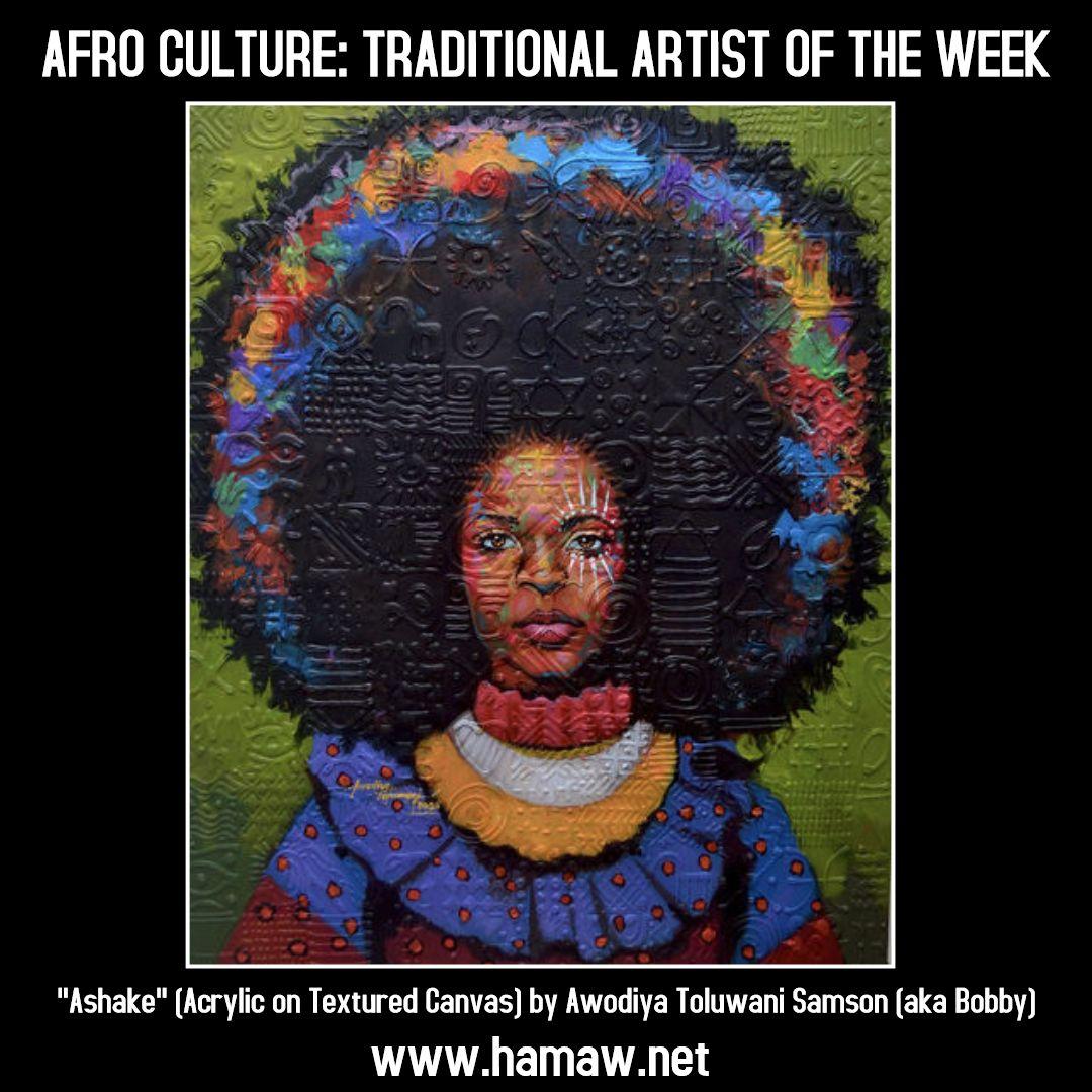 Awodiya Toluwani Samson(aka Bobby) Age:24+/Male/Nigerian Lagos,Nigeria Acrylic & Charcoal Instagram @awodiya_tolu awodiyatoluwani@gmail.com +2348136795004  #afroculture #traditionalartistoftheweek #awodiya_tolu #blackartist #blackart #afroart #artwork #blackartist #blackbeauty #blackandproud #blackhistory #nigeria #africa #photooftheday #empowerment #womenempowerment #africanmartialarts #martialarts #historicalafricanmartialartswellness #hamaw #sflhamaw #hamaa #southflorida #browardcounty