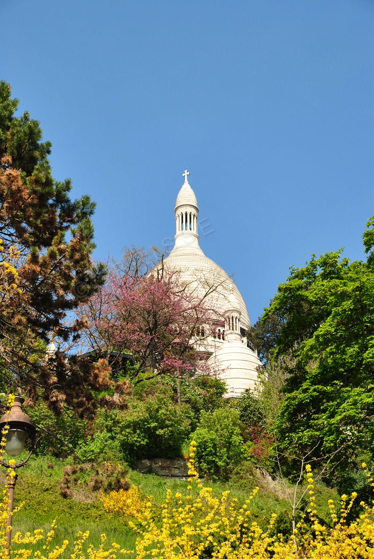 Paris Basilique du Sacré-Coeur à Montmartre