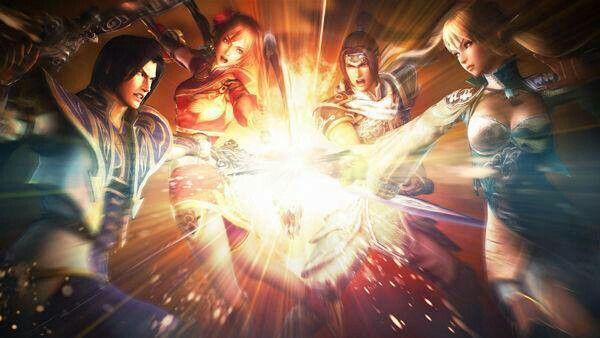Dynasty Warriors - Cao Pi, Sun Shang Xiang, Zhao Yun, Wang Yuanji