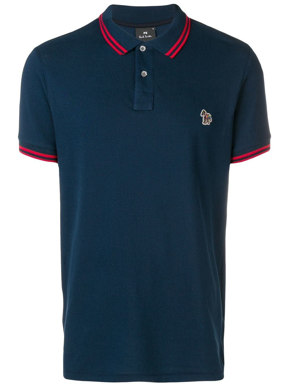 PS BY PAUL SMITH PS BY PAUL SMITH ZEBRA LOGO POLO SHIRT - BLUE.   psbypaulsmith  cloth 9052d81eee1c