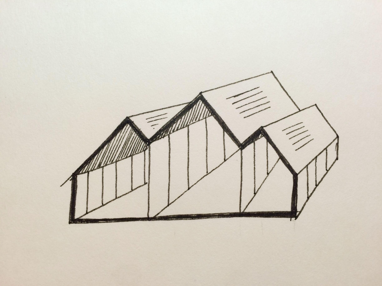 Разборный тент для восточного маркета. (Исчезающая архитектура на основе пирамид).
