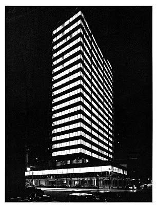 lever house : gordon bunshaft, architect   som : 1953