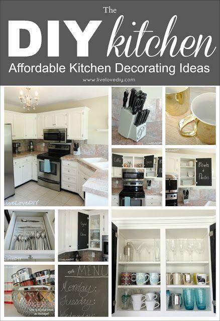 The diy kitchen chalkboard paint inside cupboards that - Bathroom remodeling woodbridge va ...