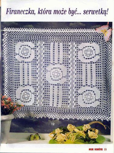 crochet curtain pattern h keln gardinen crochet curtain pinterest gardinen muster und. Black Bedroom Furniture Sets. Home Design Ideas