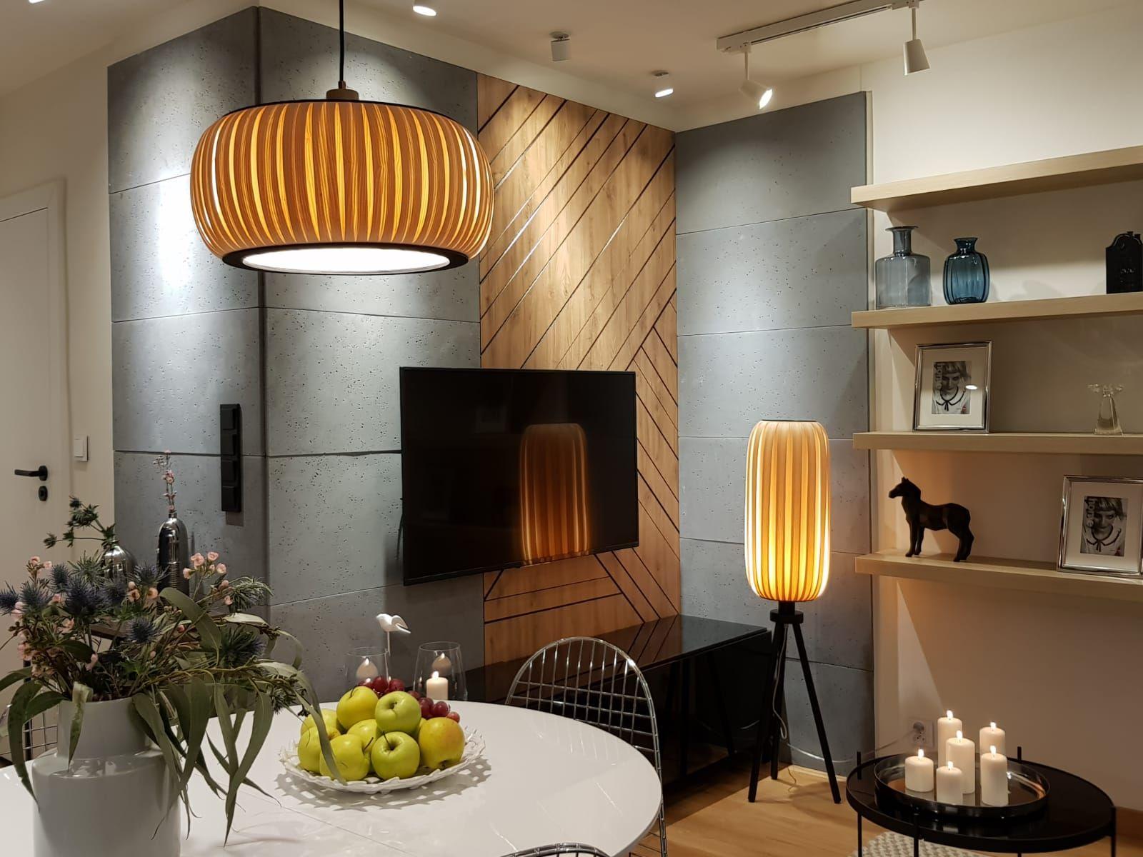 Lampy Z Drewna W Telewizji Home Decor Home Decor